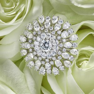 Diamond ring from the Green Carpet collection by Chopard