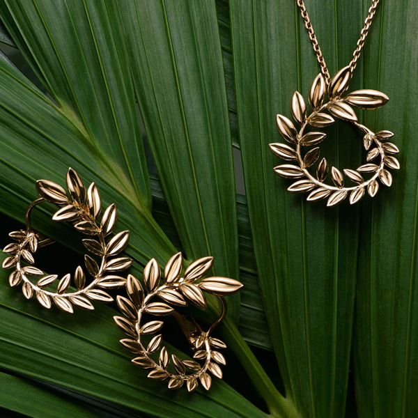 'Palme Verte', Chopard's first collection of ethical gold for the mass market.