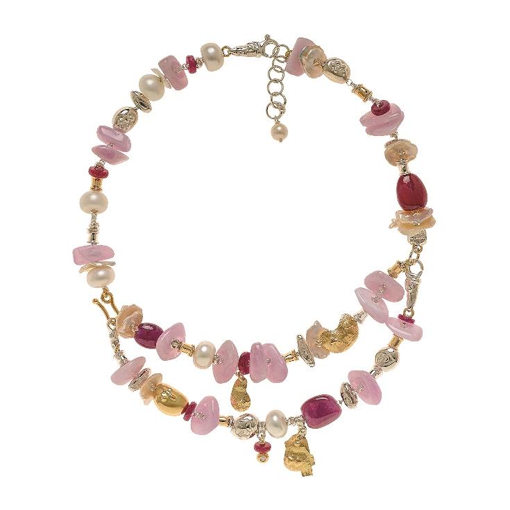 Misani's new necklace