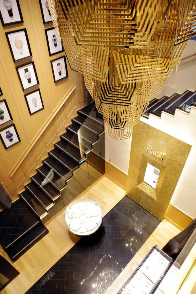 Interiors at Piaget Boutique