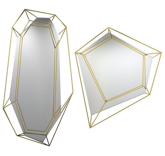 diamonds mirrors by essential home