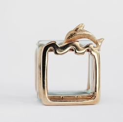 Ring with doulphin by Francesca Mo