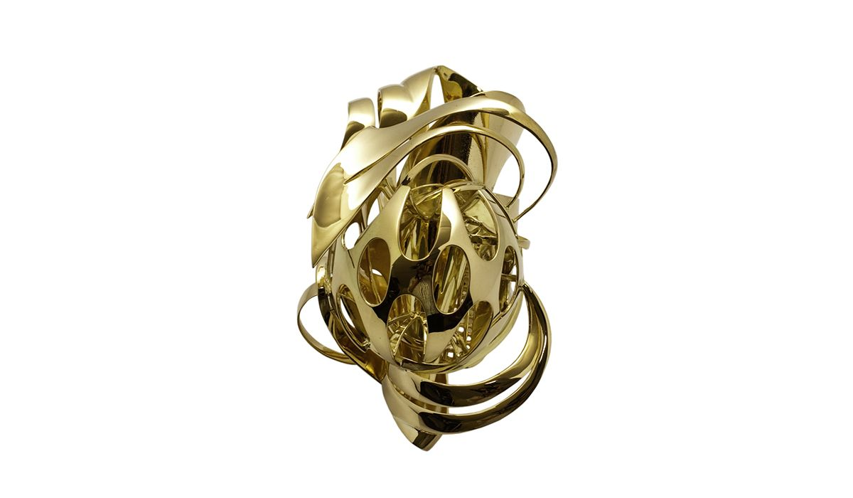 Frank Stella, Untitled ring, 2010