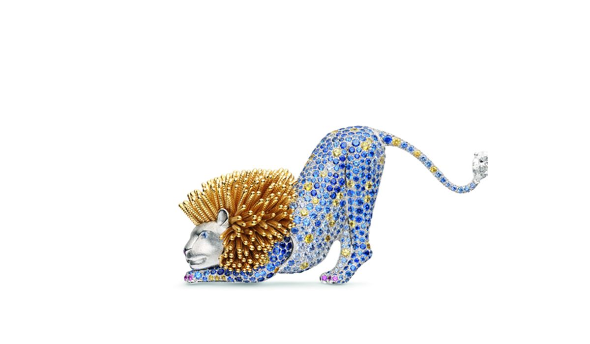 African Lion Brooch - Chaumet