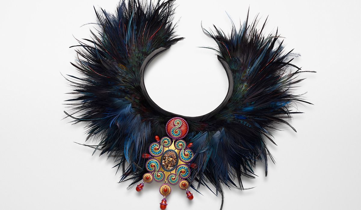 Red Carpet Collection Necklace in collaboration with Nelly Saunier