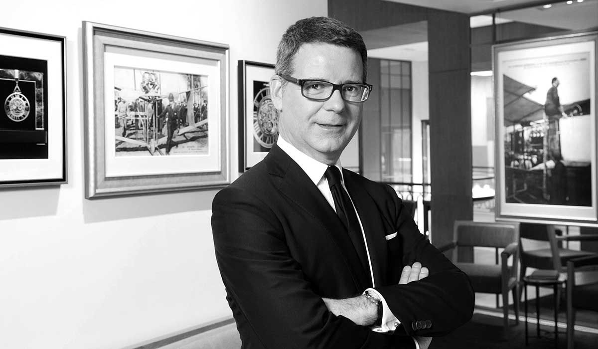 Pierre Rainero, Cartier's Head of Heritage and Style.