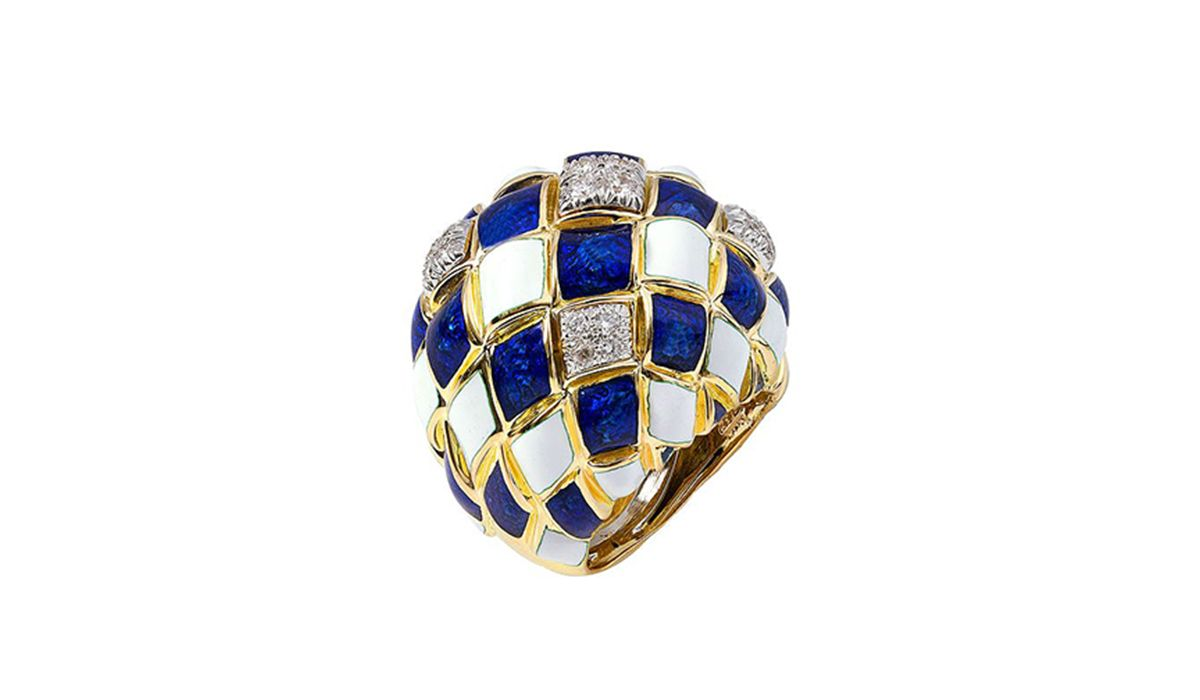 Ring by David Webb, Cayen Collection
