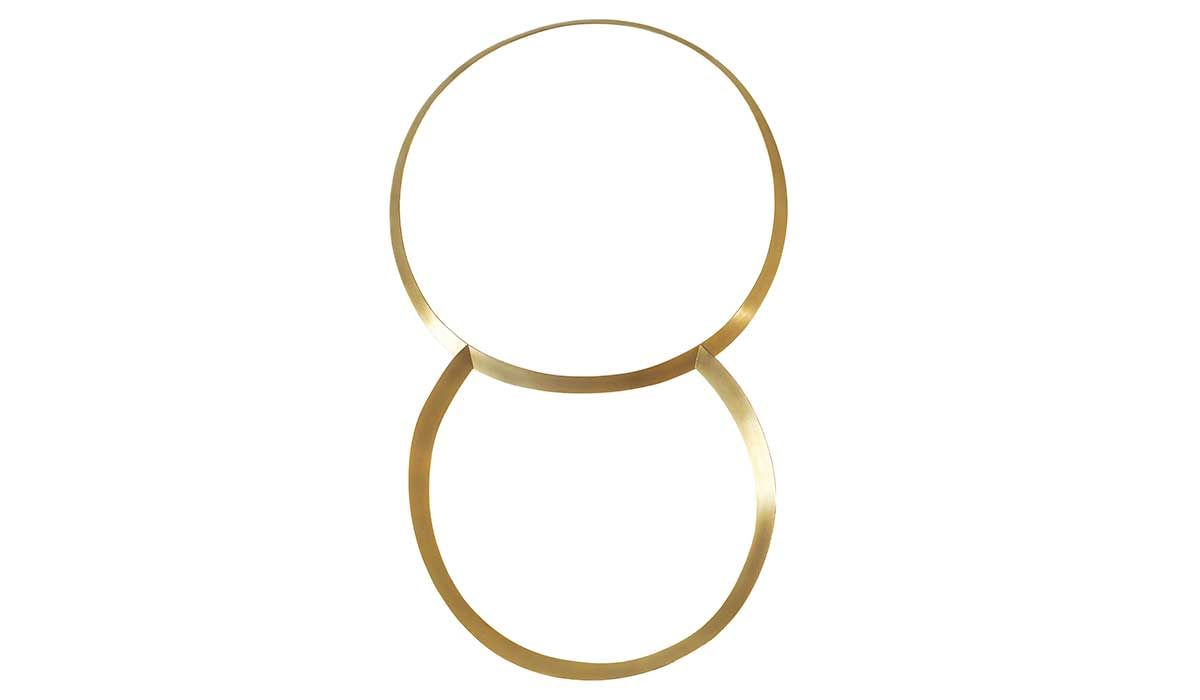 Two Hoops by Dorothea Prühl, selected by Marie-José van den Hout, founder and owner of Galerie Marzee.