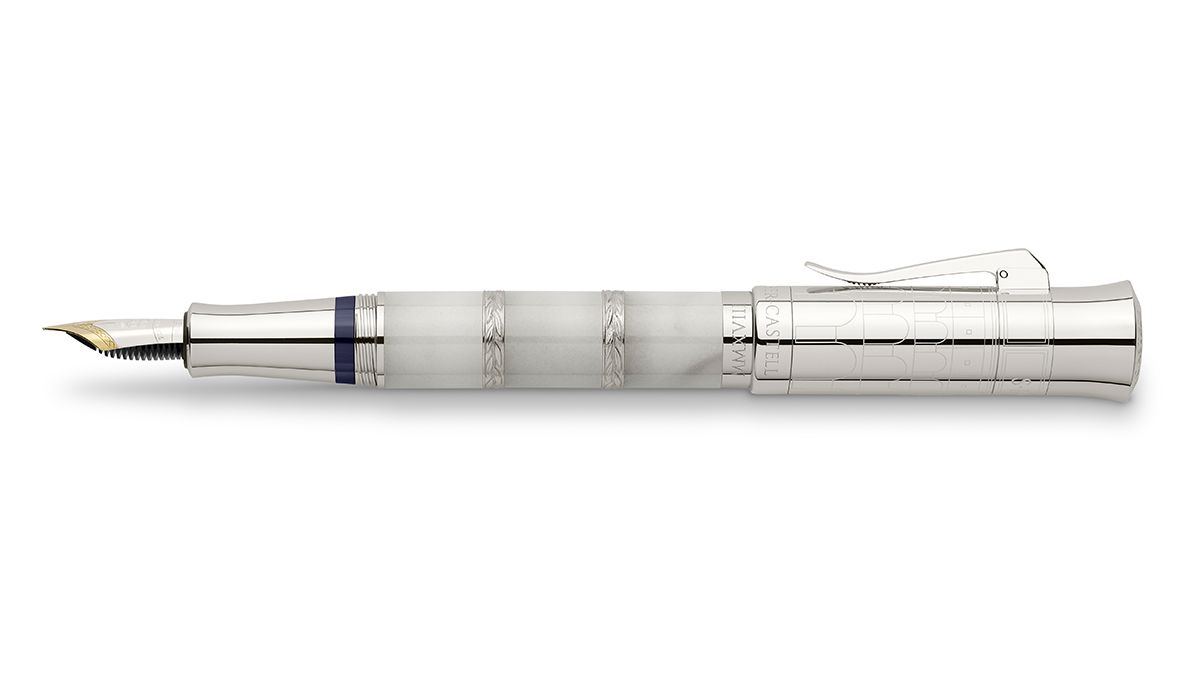 The White Edition in Carrara Marble of the pen of the year