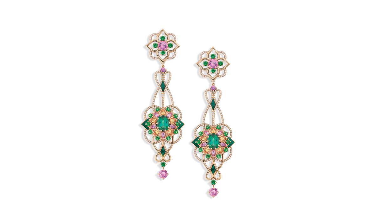 Giardino earrings, Isola Madre High Jewellery collection, Mellerio