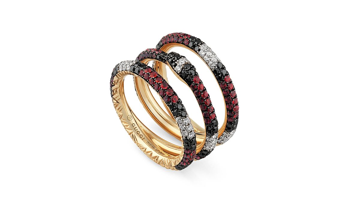 Ouroboros ring by Gucci