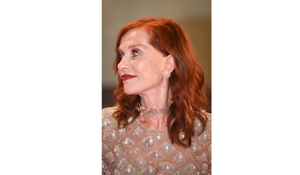 Isabelle Huppert in Messika earrings and choker