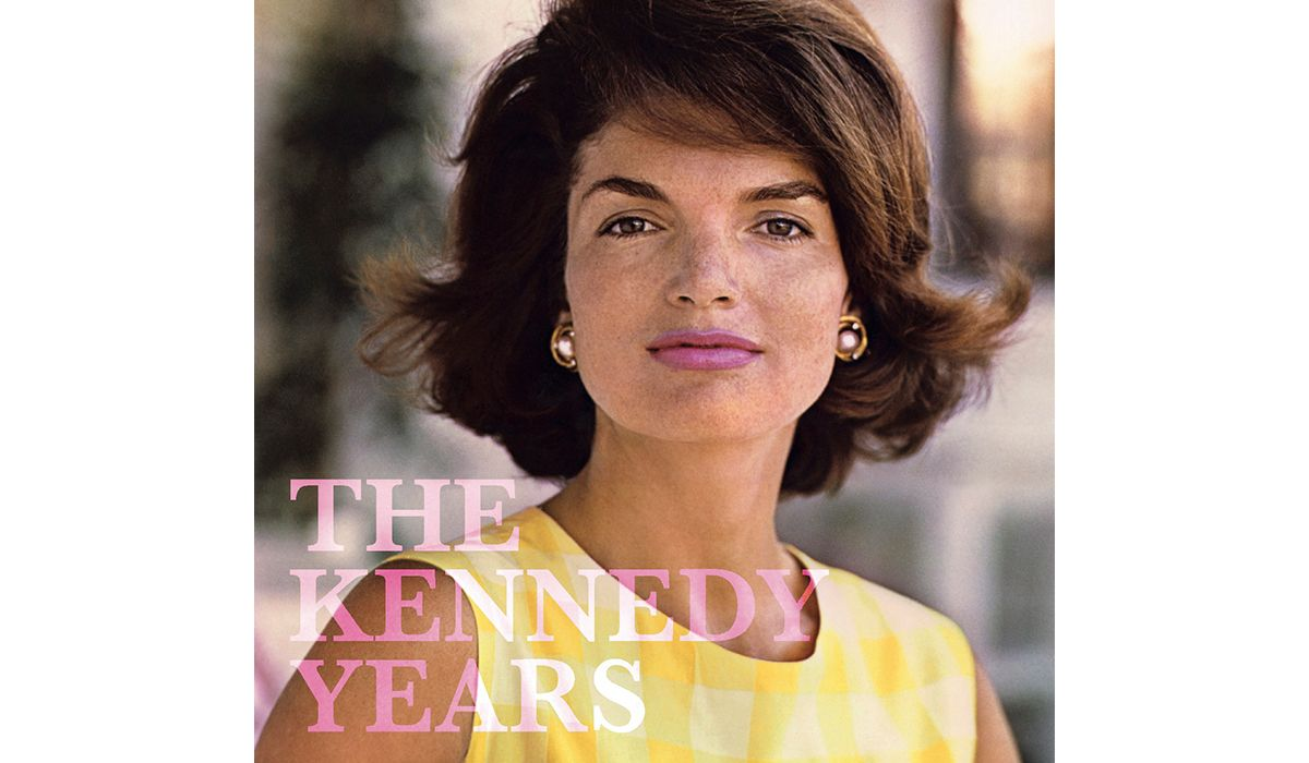 Cover of the THE KENNEDY YEARS catalogue. Photo Jacques Lowe.