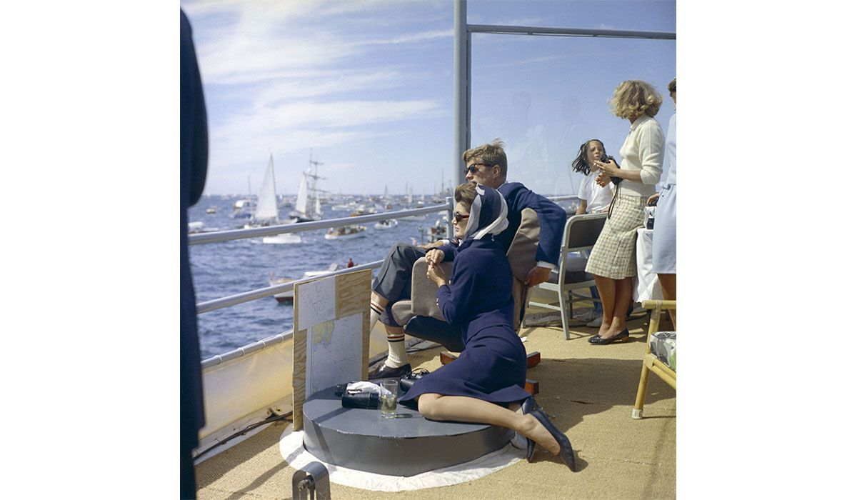 America's Cup 1962. Photo White House Photographs, JFK Library.
