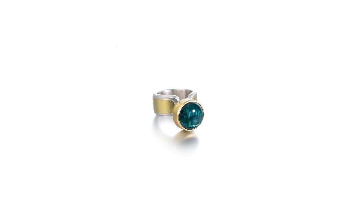 Lucy Martin, Cat's Eye Tourmaline Ring.