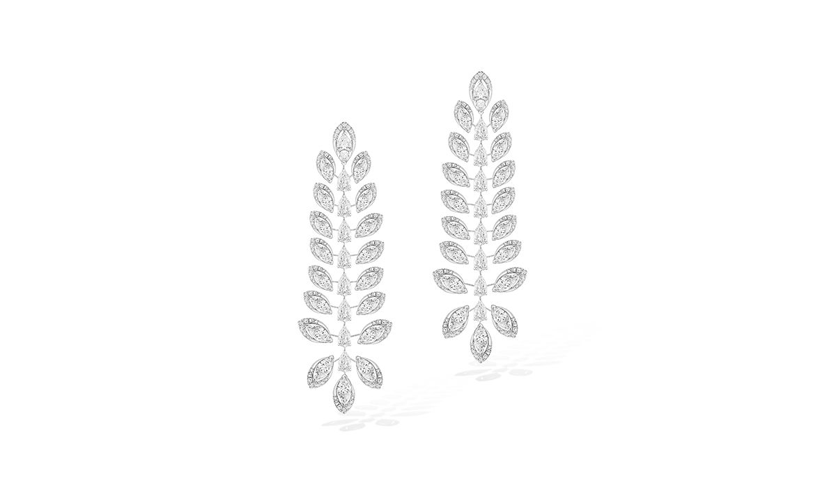 Diamond Catcher chandelier earrings