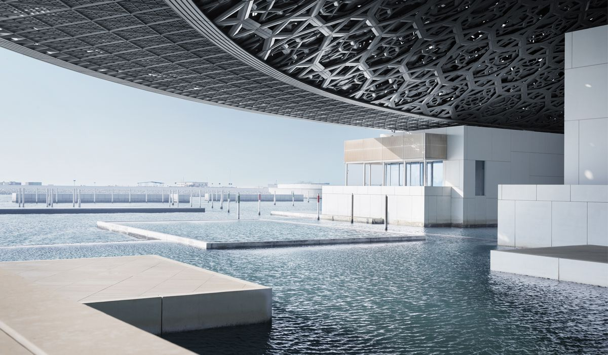 View overlooking the sea © Louvre Abu Dhabi, Mohamed Somji