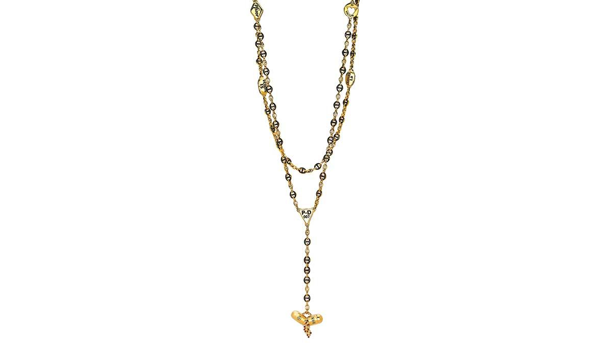 Damien Hirst and Robert Keith's Rosary Hoorsenbuhs, selected by the jewelry designer Olga Noronha.