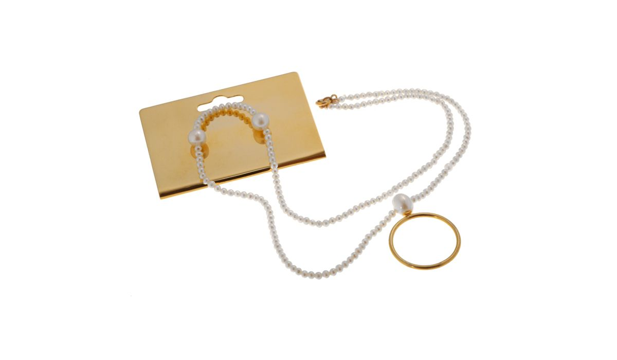Stacey Huang Gift set necklace