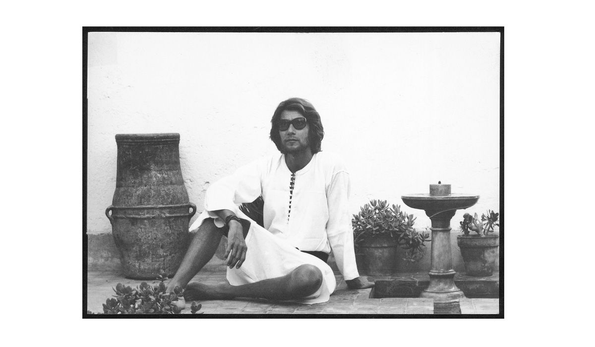 Yves Saint Laurent, Dar el Hanch © Pierre Bergé