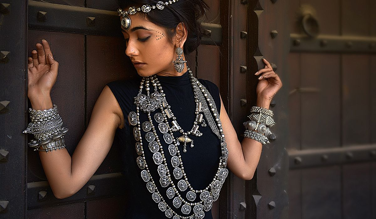 Jewellery from the Tribe By Amrapali's Chandrika Collection