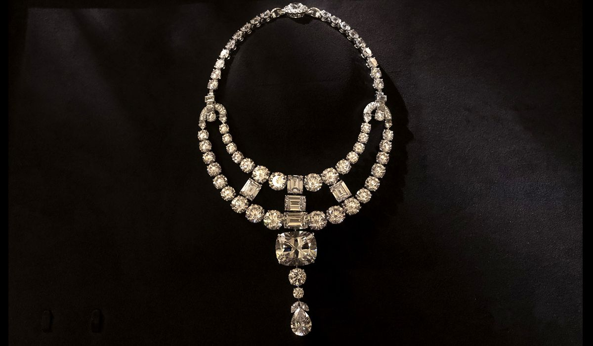 The exclusive 'Toussaint' necklace designed and created by Jaques Cartier