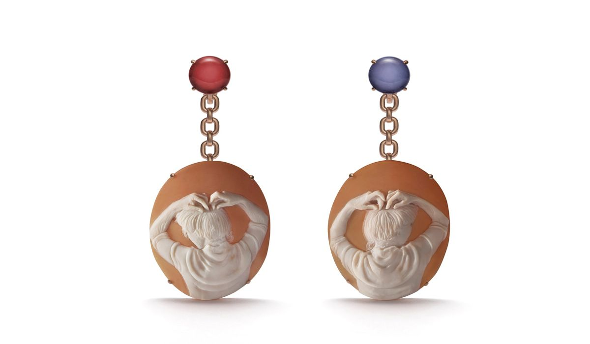 Catherine Opie Mary earrings