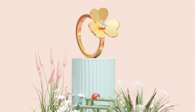 Springtime at Van Cleef & Arpel is Frivole