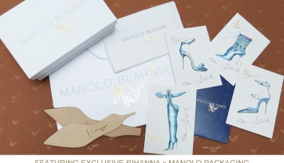The special limited edition Rihanna x Manolo Blahnik