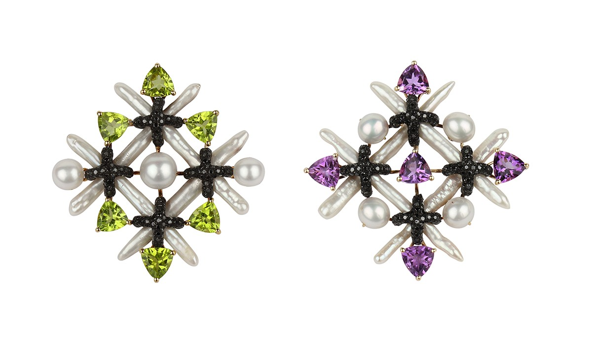 Earrings from Prêt collection for Net-à-Porter