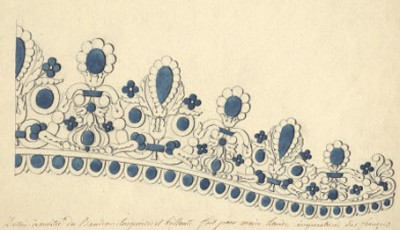 Chaumet on Show with Tiaras' Sketches