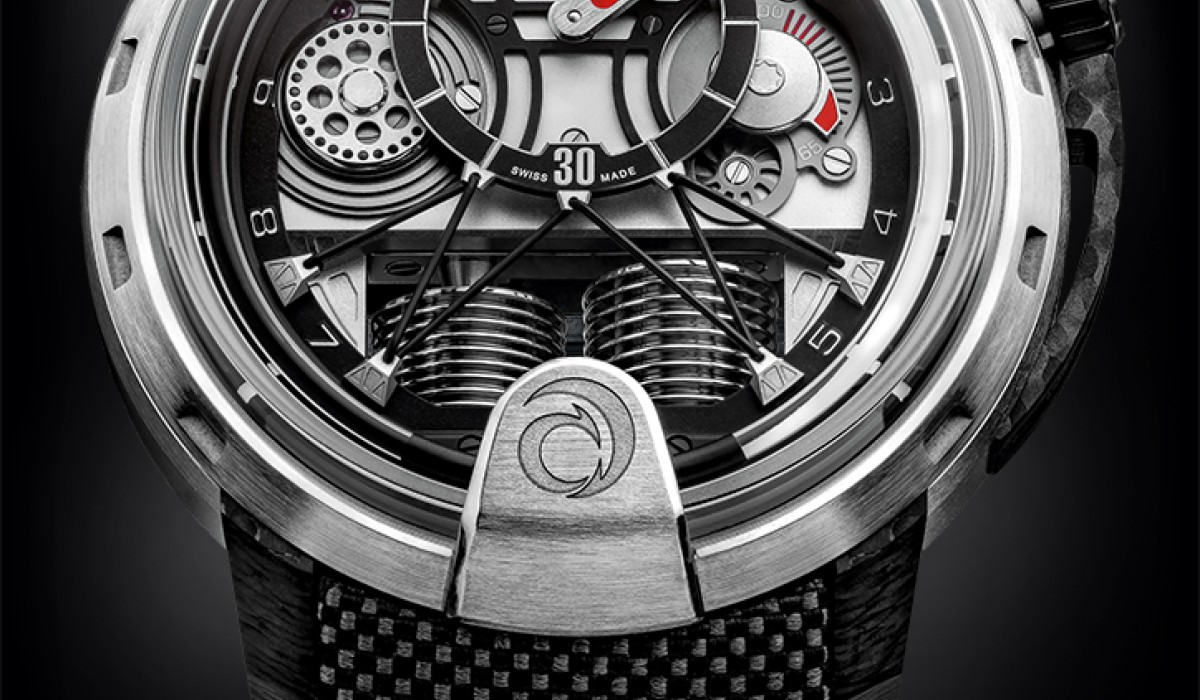 The new HYT H1 Alinghi