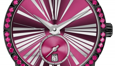 Roger Dubuis' Excalibur 36 Collection is a hypnotizing explosion of colors