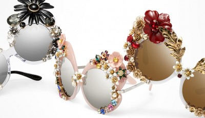 The new Dolce&Gabbana eyewear Flower collection