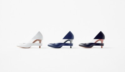 The shoes project by Nendo